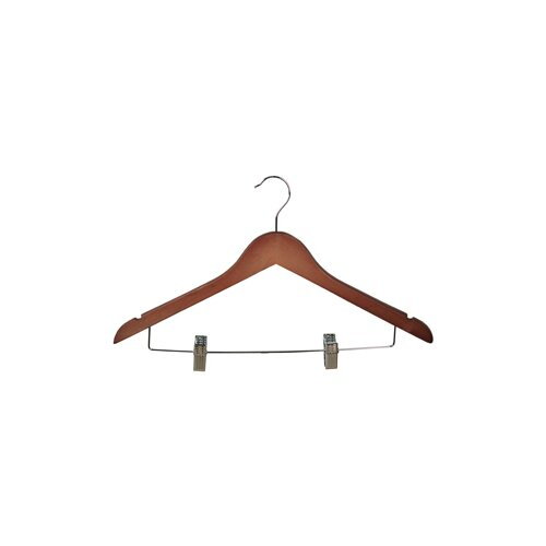 Wood Clips Suit Hanger (Set of 5)