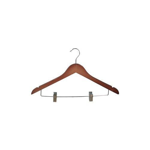 Wood Clips Suit Hanger (Set of 5)