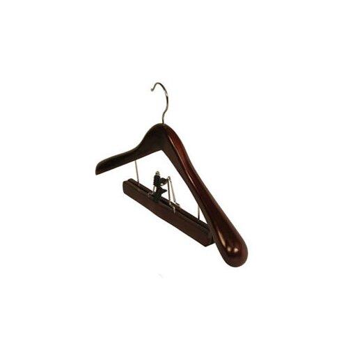 Wood Clamp Deluxe Suit Hanger