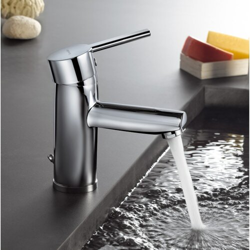 Roman Soler by Nameeks Drako Deck Mount Bathroom Sink Faucet