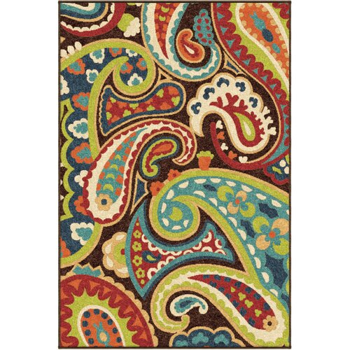 Orian Veranda Paisley Outdoor Area Rug Amp Reviews Wayfair