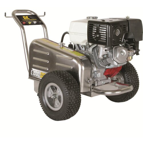 BE Pressure Belt Drive 3500 PSI 4 GPM Cold Water Stainless Steel General Pump Pressure Washer