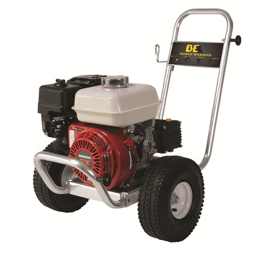 BE Pressure 2500 PSI 3 GPM Cold Water Aluminum AR Pump Pressure Washer
