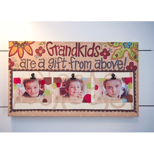 Glory Haus Grandkids Clip Memorabilia on Canvas