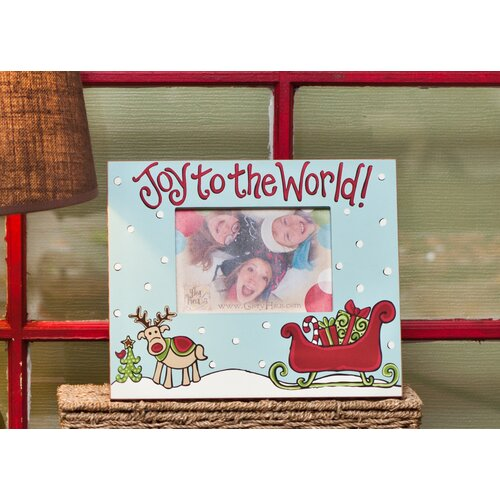 Glory Haus Joy To The World Reindeer Picture Frame
