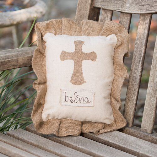 Glory Haus Cross Believe Pillow