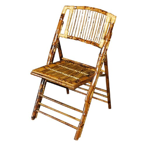 Commercial Seating Products Bamboo Folding Chair