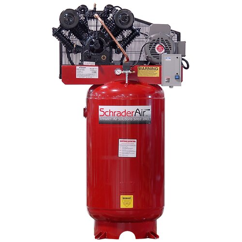 Schrader International 80 Gallon Professional Series 2 Stage Vertical Air Compressor