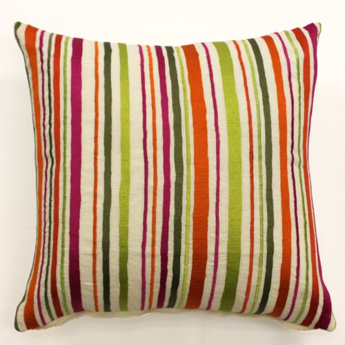 Sabira Gulmuhar Silk Linen Pillow