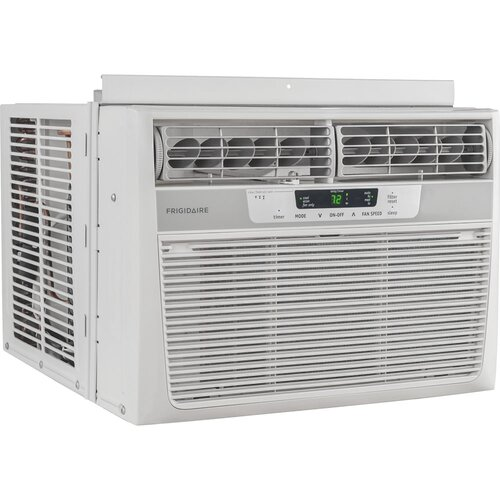 12000 btu window compact air conditioner with remote