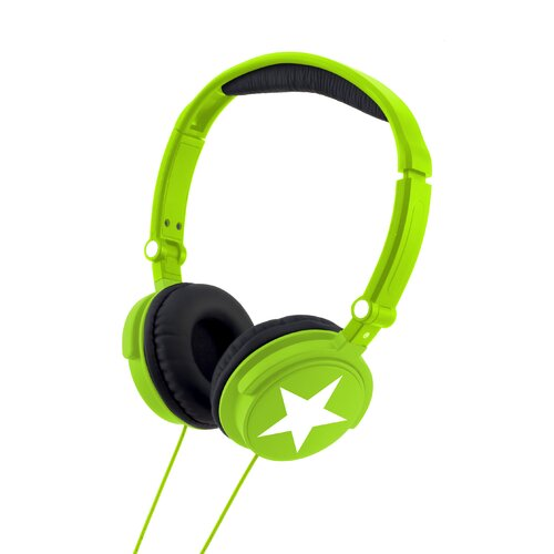Lexibook Bright Green Stereo Headphones