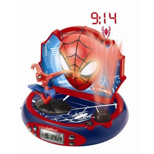 Lexibook Spider-Man Projector Radio Alarm Clock