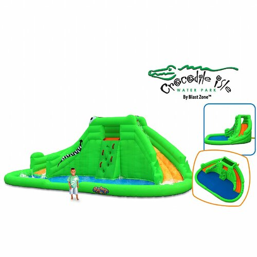 Blast Zone Crocodile Isle Water Slide