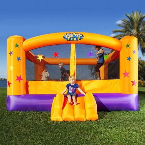 Blast Zone Superstar Bounce House
