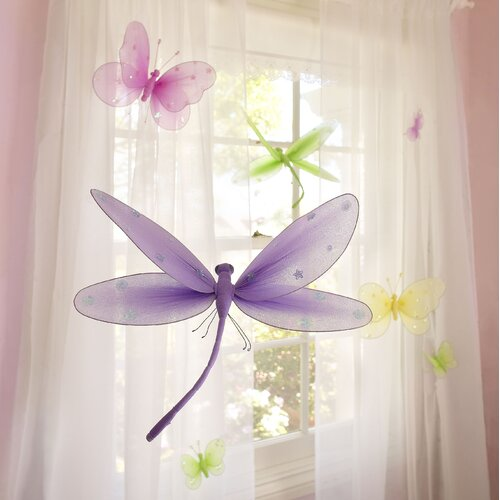 Heart to Heart 8 Piece Girls Nursery Room 3D Wall Décor Set