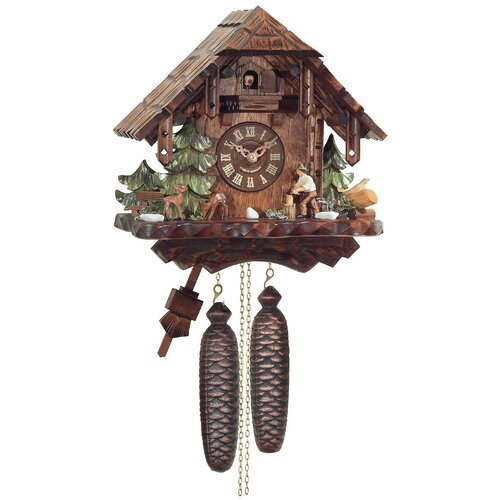 Eight Day Cottage Cuckoo Wall Clock