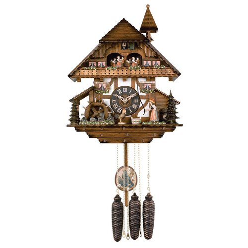 Musical Cuckoo Wall Clock