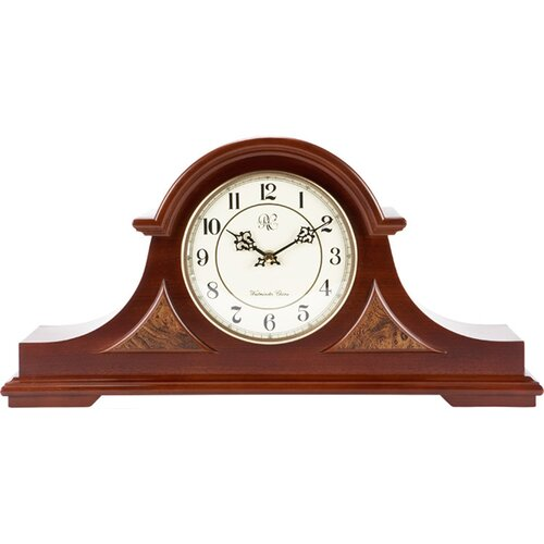 River City Clocks Traditional Chiming Mantel Clock in Cherry