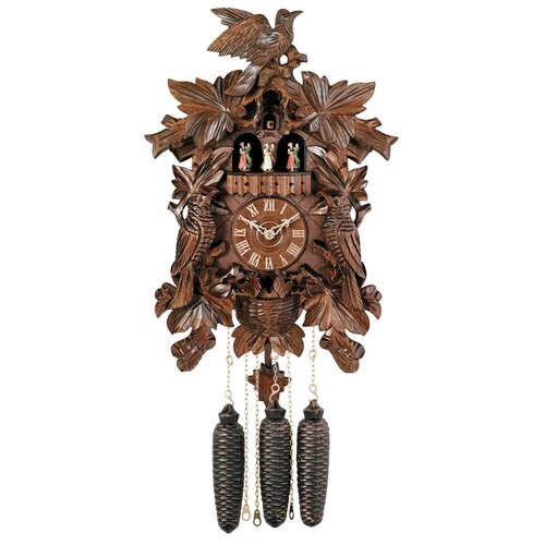 Eight Day Musical Cuckoo Wall Clock