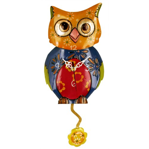 River City Clocks Owl Wall Clock