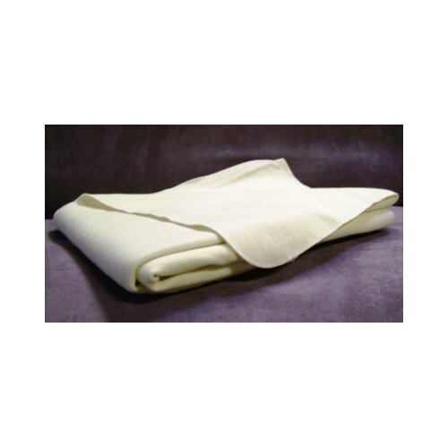 White Lotus Home 100% Organic Wool Crib Puddle Pad