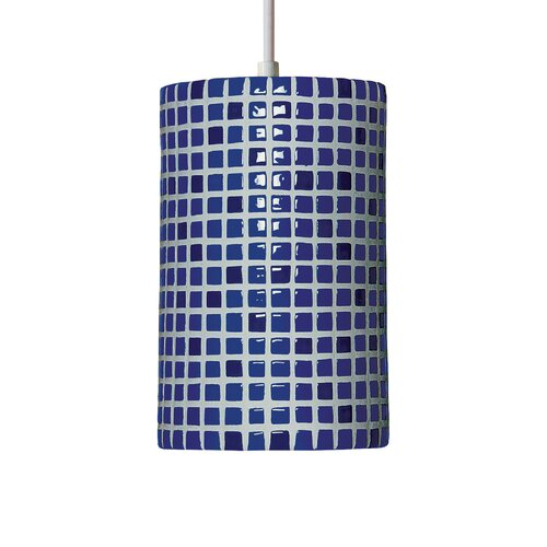 A19 Mosaic 1 Light Pendant