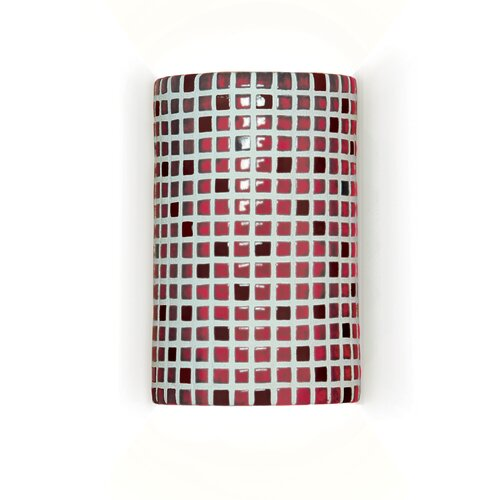A19 Mosaic Confetti 1 Light Wall Sconce