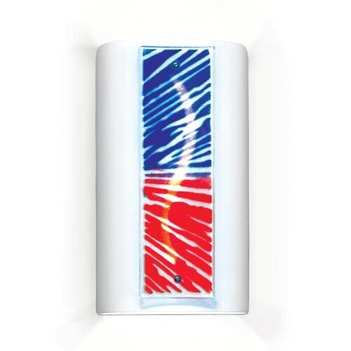 A19 Jewel Fourth of July 1 Light Wall Sconce