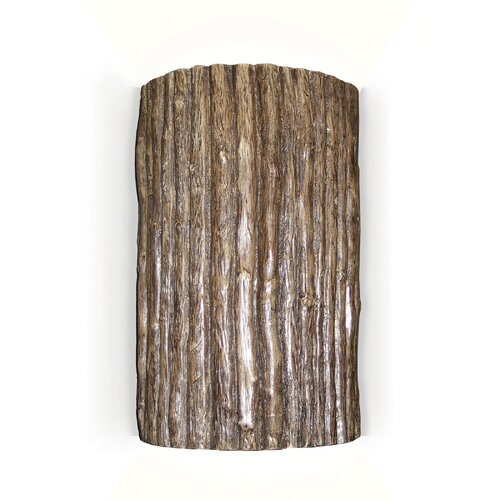 A19 Nature Twigs 1 Light Wall Sconce