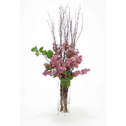 Distinctive Designs Silk Arrangement in Vase
