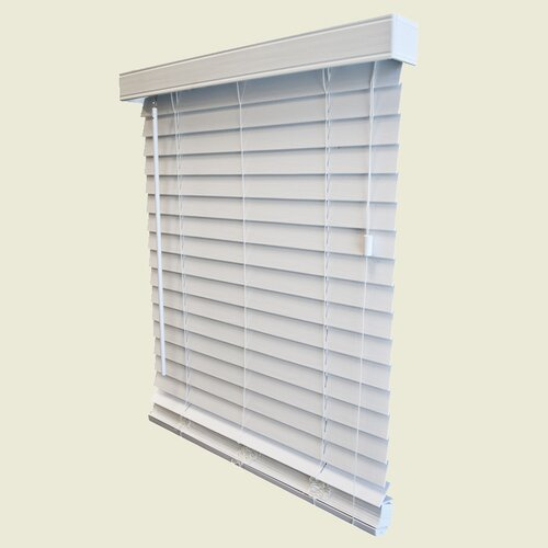 "Wildon Home ® 2"" Embossed Woodgrain Blind - 96"" H"