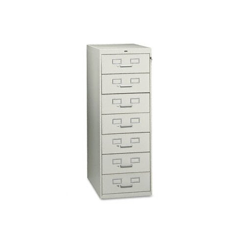 Tennsco Corp. Tennsco Seven-Drawer Multimedia Filling Cabinet