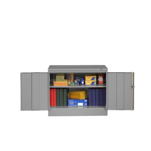 """Tennsco Corp. Standard 36"""" Desk High Cabinet"""
