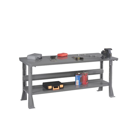 Tennsco Corp. Steel Top Workbench