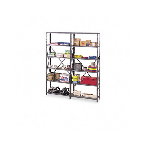 Tennsco Corp. Industrial Steel Shelving for 87 High Posts, 36W X 24D, 6/Carton