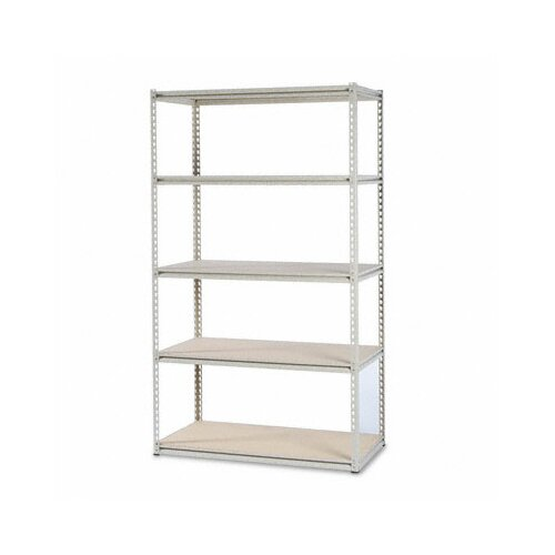 "Tennsco Corp. Tennsco Stur-D-Stor 50.75"" H 5 Shelf Shelving Unit Starter"