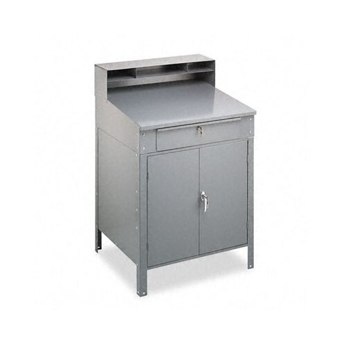 Tennsco Corp. Steel Cabinet Shop Desk
