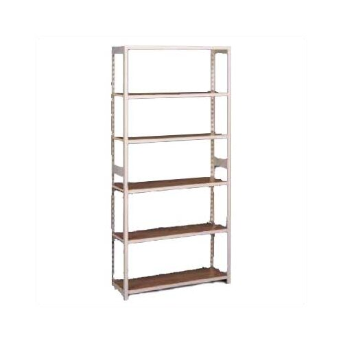 "Tennsco Corp. Regal 76"" H 6 Shelf Shelving Unit Starter"