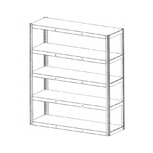 Tennsco Corp. Die Rack Shelving Units