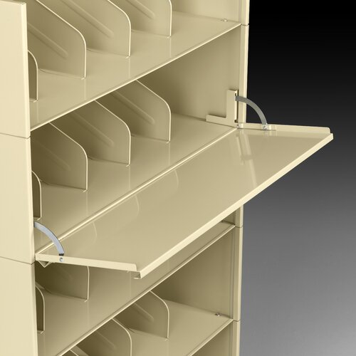 Tennsco Corp. Posting Shelf for Stackable Filing System