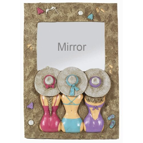 RAM Gameroom Products Bikini Ladies Mirror
