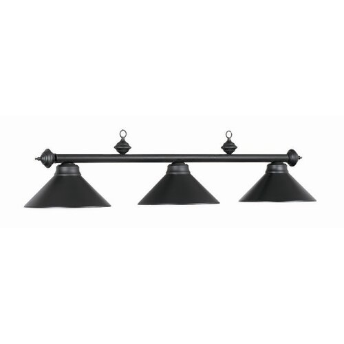 RAM Gameroom Products 3 Light Billiard Light