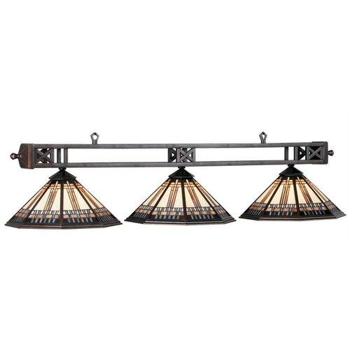 Winslow 3 Light Billiards Light