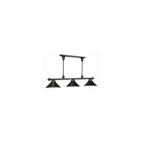 Pull 3 Light Billiard Light