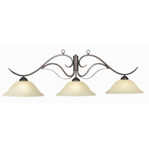 3 Light Monaco Pendant