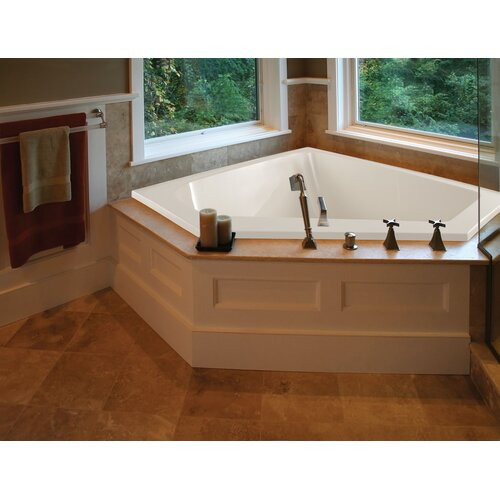 "Hydro Systems Designer Courtney 60"" x 48"" Bathtub"