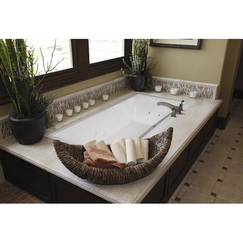 """Hydro Systems Designer Eileen 74"""" x 38"""" Air Tub with Thermal System"""
