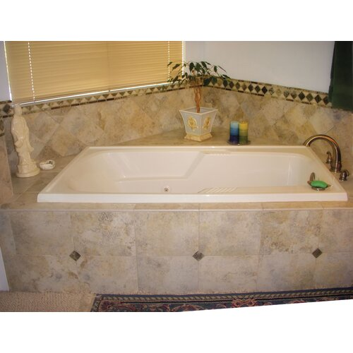 """Hydro Systems Designer Isabella 66"""" x 36"""" Whirlpool Tub with Combo System"""
