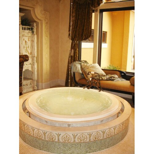 """Hydro Systems Designer 69"""" x 69"""" Redondo Air Tub with Thermal System"""