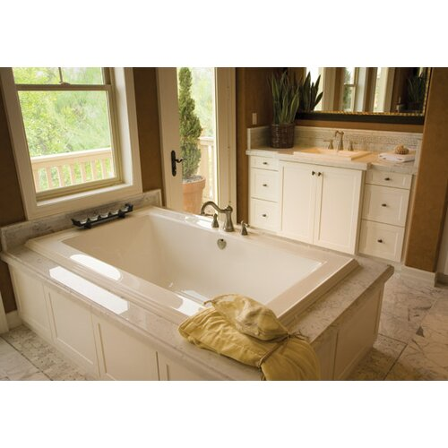 "Hydro Systems Designer Angel 72"" x 42"" Bathtub"